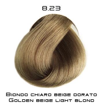 Тон 8.23 Светлый блондин бежево-золотистый  Selective Professional