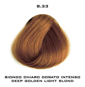 Тон 8.33 Светлый блондин золотистый интенсивный  Selective Professional