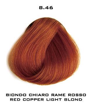 Тон 8.46 Светлый блондин медно-красный  Selective Professional