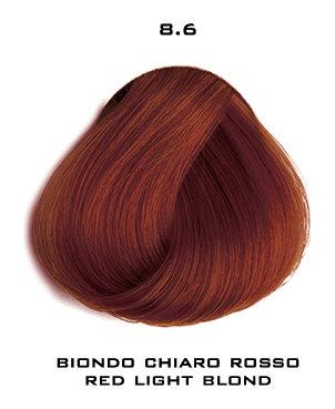 Тон 8.6 Светлый блондин красный  Selective Professional