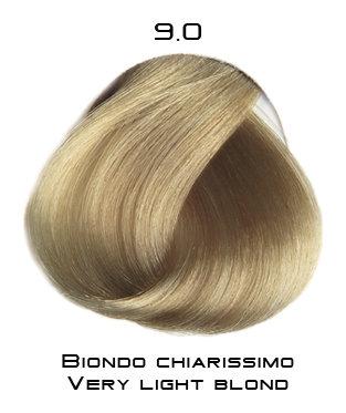 Тон 9.0 Очень светлый блондин  Selective Professional