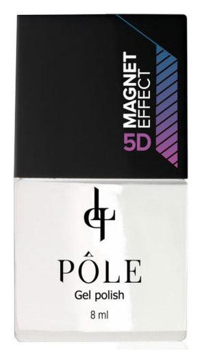 Гель-лак для покрытия ногтей Кошачий глаз Magnet effect 5D POLE