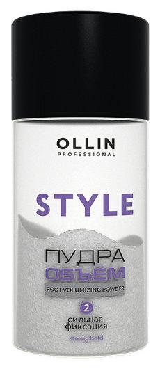Пудра для прикорневого объема волос сильной фиксации  OLLIN Professional