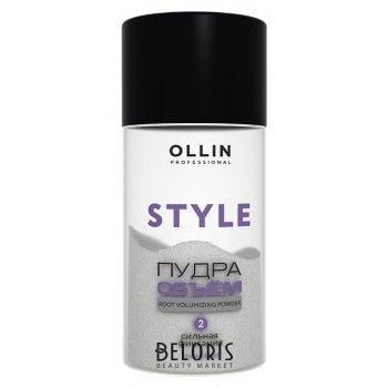Пудра для прикорневого объема волос сильной фиксации OLLIN Style