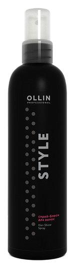 Спрей-блеск для волос  OLLIN Professional
