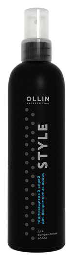 Термозащитный спрей для выпрямления волос  OLLIN Professional