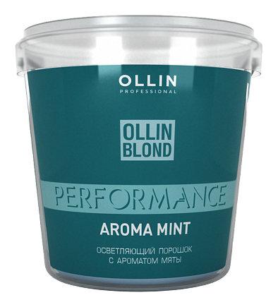 Осветляющий порошок с ароматом мяты  OLLIN Professional