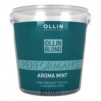 Осветляющий порошок с ароматом мяты OLLIN Performance