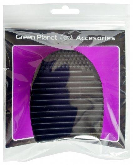 Щетка косметическая силиконовая 3 в 1  Green Planet