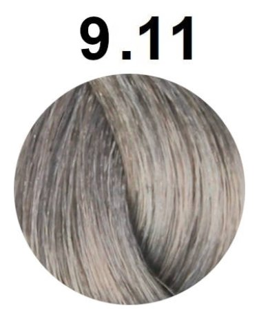 Тон 9.11 Очень светлый интенсивный пепельный блондин  FarmaVita