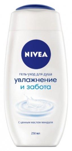 Крем-гель для душа Увлажнение и забота  Nivea