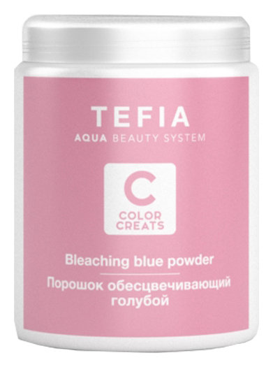 """Порошок обесцвечивающий голубой """"Color Creats""""  Tefia"""