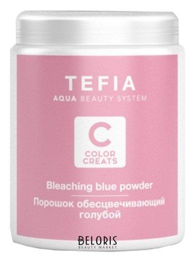 Купить Порошок для волос Tefia, Порошок обесцвечивающий голубой Color Creats , Италия