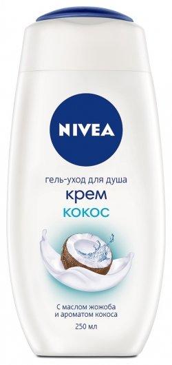 Гель для душа Крем кокос  Nivea