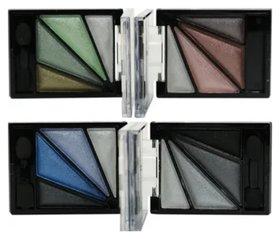 Тени для век 4-х цветные перламутровые 1010 Farres
