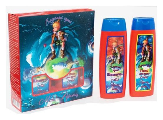"""Набор подарочный Мой принц """"Сказочный герой"""" (Шампунь для волос, 250 мл + гель для душа, 250 мл)  Festiva"""