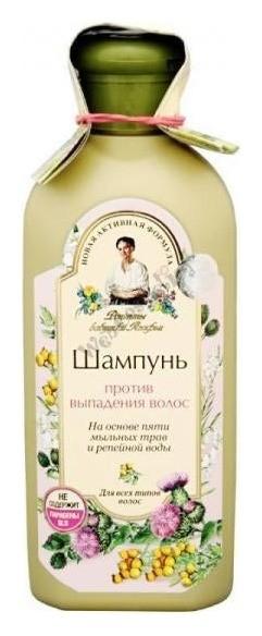 Шампунь против выпадения волос  Рецепты бабушки Агафьи