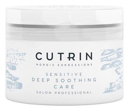 Смягчающая маска для чувствительной кожи головы без отдушки  Cutrin