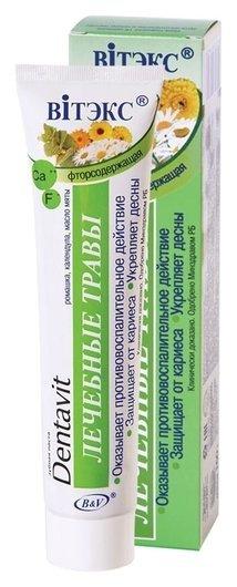 Зубная паста лечебные травы  Белита - Витекс