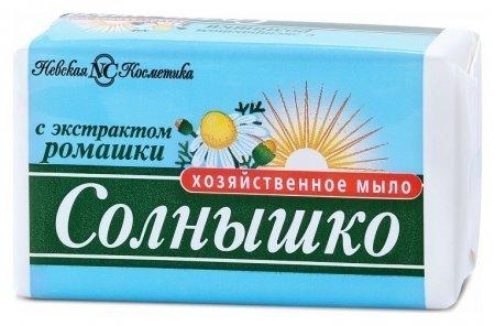Мыло хозяйственное с экстрактом ромашки  Невская косметика