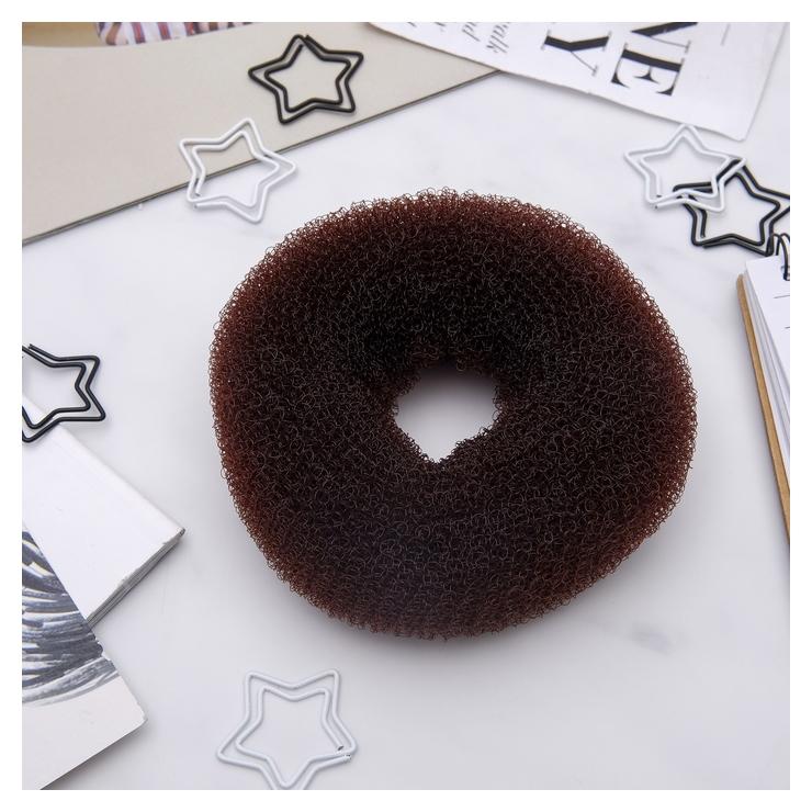 Валик для волос (Коричневый, большой) NNB