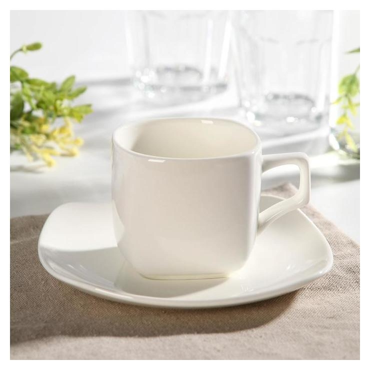 Чайная пара Wilmax England, чашка 200 мл, блюдце  Wilmax England