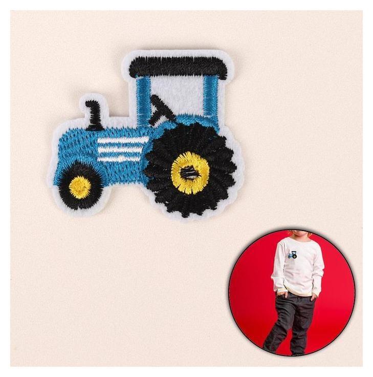 Термоаппликация «Трактор», 5,3 × 4,3 см  Арт узор