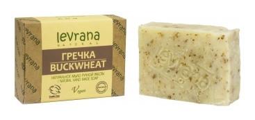 Натуральное мыло ручной работы Гречка  Levrana
