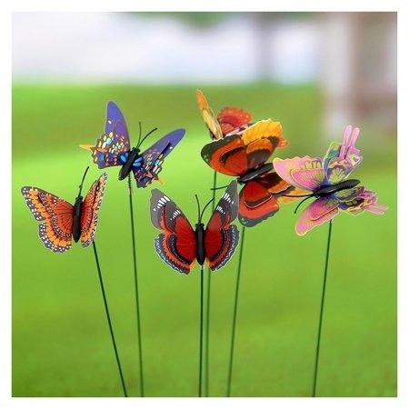 Набор декоративного штекера 6 шт. Бабочка дельфиус NNB
