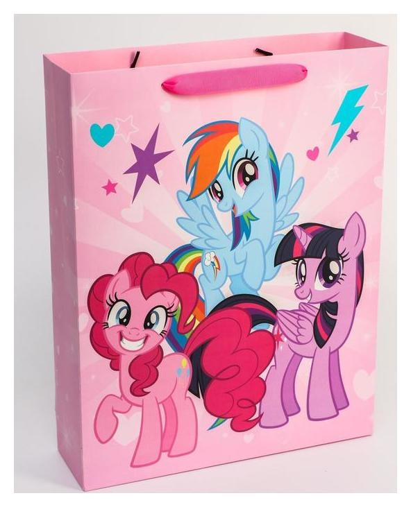 Пакет ламинат горизонтальный, My Little Pony, 31 х 40 х 9 см  Hasbro