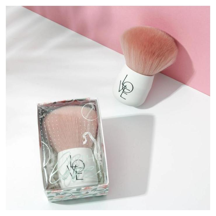 Кисть для макияжа With Love 6 х 4,9 х 8,9 см Арт узор