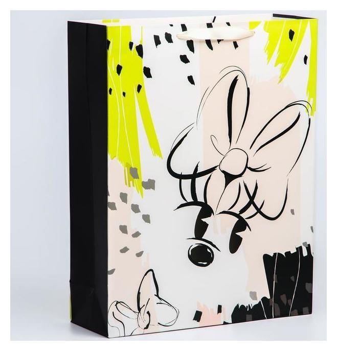 """Пакет ламинат вертикальный """"Minnie Mouse"""", 31х40х11 см, минни маус  Disney"""