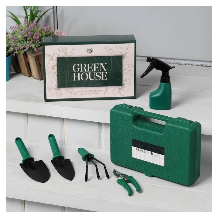 Набор инструментов для садовода Green House, 5 предметов NNB