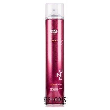 Лак для укладки волос экстра-сильной фиксации One Extra strong hold Lisap Milano Lisynet