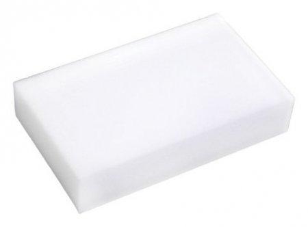 Губки бытовые меламиновые, для удаления пятен, 3 штуки, 10x6x3 см (Цвет: белый)  Лайма