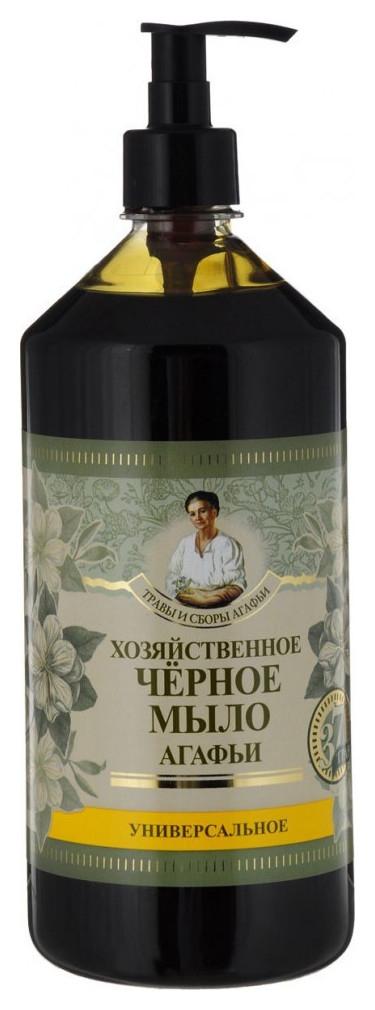 Мыло черное хозяйственное жидкое  Рецепты бабушки Агафьи