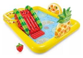 """Игровой центр-бассейн сгоркой """"Fun'n fruity""""  Intex"""
