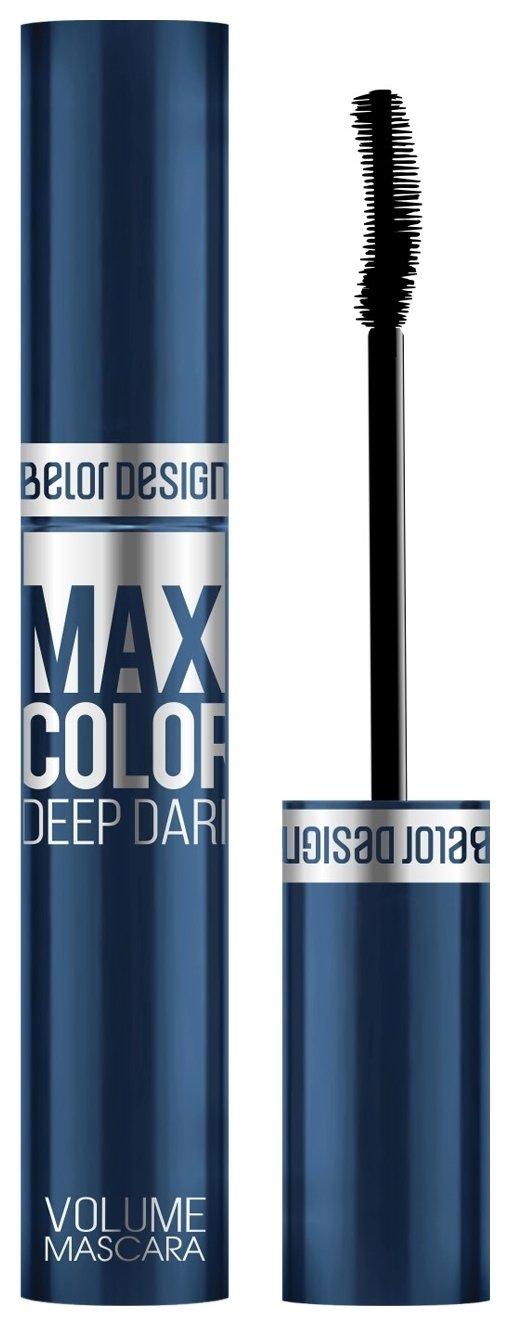 Тушь для ресниц объемная Maxi Color  Belor Design