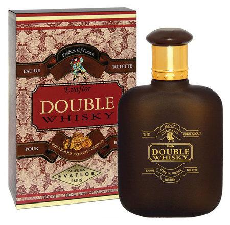 Туалетная вода мужская Double Whisky  Evaflor