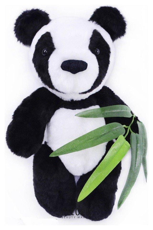 Набор для изготовления игрушки из меха Панда с бамбуком Мехомания
