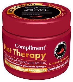 Маска для волос интенсивная профилактика выпадения с термоэффектом Hottherapy Compliment