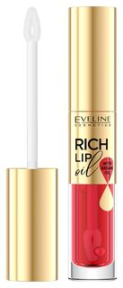 Масло для губ Eveline Rish Lip Oil манго, 4,5 мл  Eveline Cosmetics