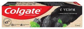 Зубная паста Colgate натурэль эффективное отбеливание с углем, 75 мл