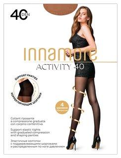 Колготки Innamore Activity 40 Den, размер 5, Miele (Светлый загар)  Innamore