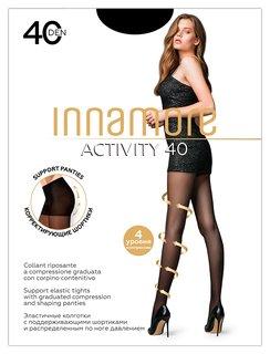 Колготки Innamore Activity 40 Den, размер 4, Nero (Черные)  Innamore