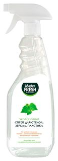 Средство для стекол Master Fresh ЭКО спрей для стекол, зеркал, пластика, 500 мл  Master FRESH