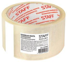 Скотч 48мм*40м прозрачный Staff 440087  Staff