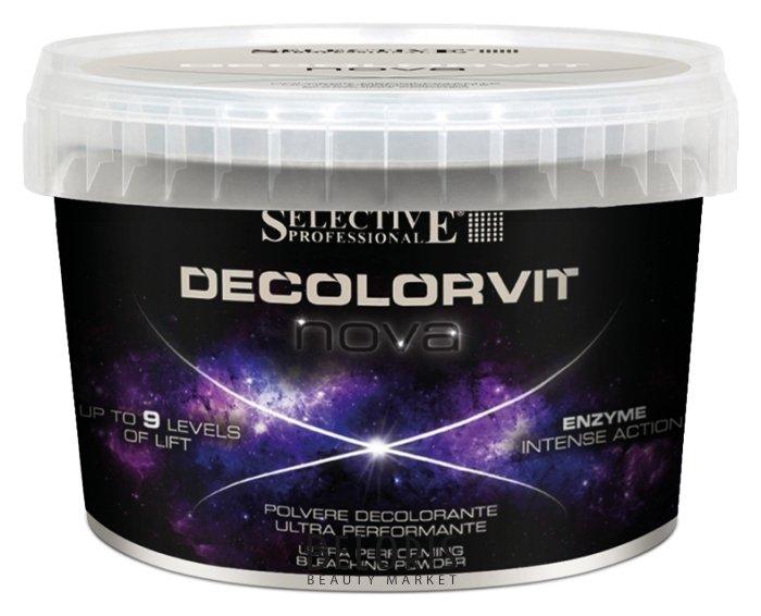 Порошок для волос Selective, Порошок обесцвечивающий экстра эффективный NOVA, Италия  - Купить