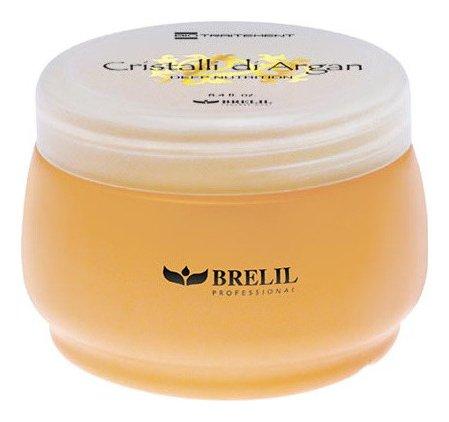 """Маска для глубокого восстановления, шелковистости и блеска волос """"Кристаллы аргании""""  Brelil Professional"""