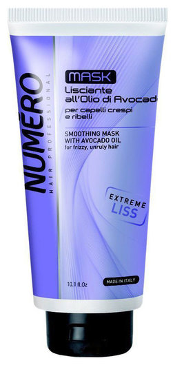 """Разглаживающая маска с маслом авокадо для непослушных волос """"Liss""""  Brelil Professional"""